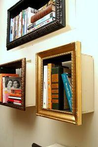 pinterest frame shelves