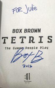 tetris signed